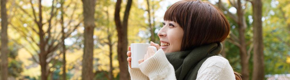 肌寒い秋のおすすめ寒さ対策☆