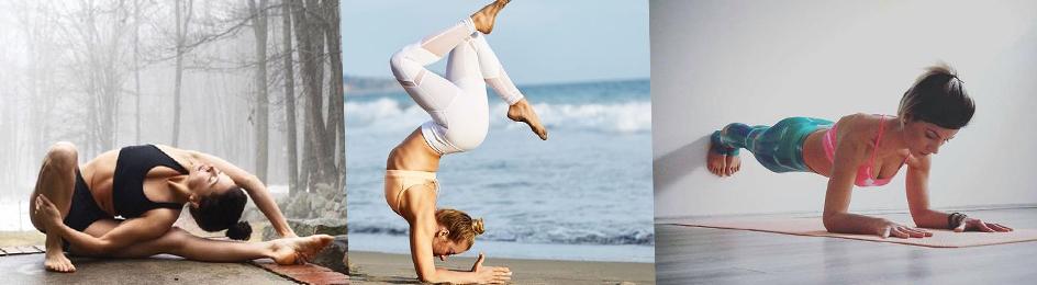 在家也能輕鬆做的各種瑜伽運動